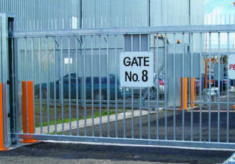 STG Heavy Duty Cantilever Gate
