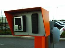 MKA Card Reader Bollard