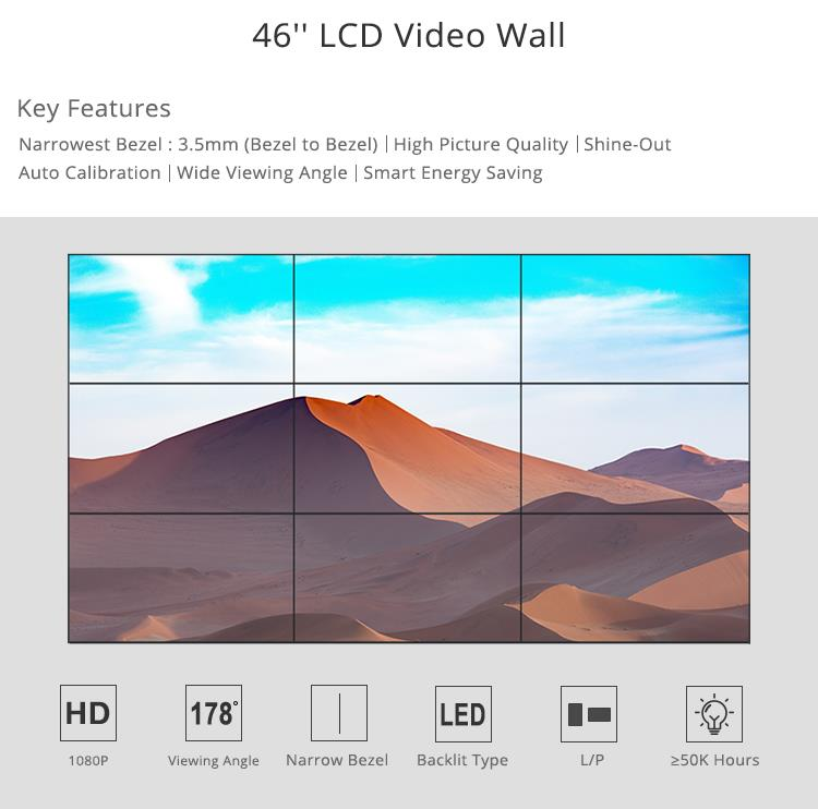 Display - Video Wall 45inch 4