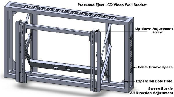 Display - Video Wall 46inch 10